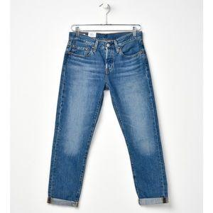 NWT Levis's 501 Taper Medium Wash Jeans
